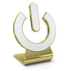 Power Golden Icon