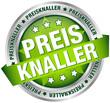 """Button Banner """"Preisknaller"""" grün/silber"""