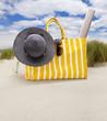Badetasche am Strand