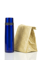 Lunch-bag and coffee can