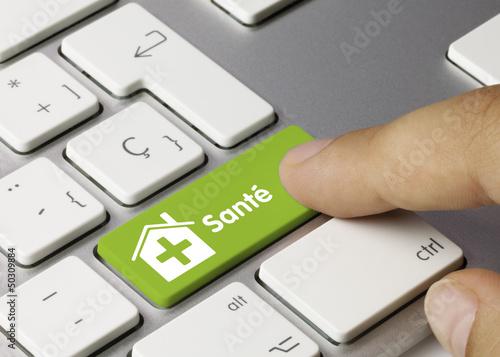 Maison de santé clavier doigt - 50309884