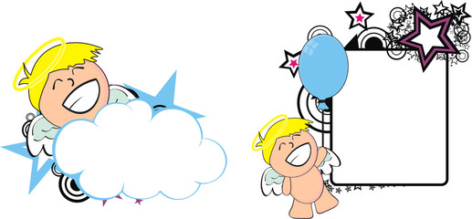 angel kid cherub cartoon copyspace2