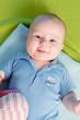 Baby auf einer Decke