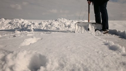 Schneeschieben 006