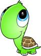 Cute Turtle Vector Art