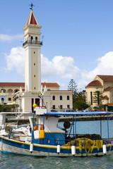 Puerto de Zante (Grecia)