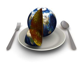 Концепция раздела земного шара.
