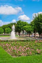Springbrunnen in Ahlbeck