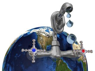 Запасы пресной воды на земной шаре. Концепция экономии