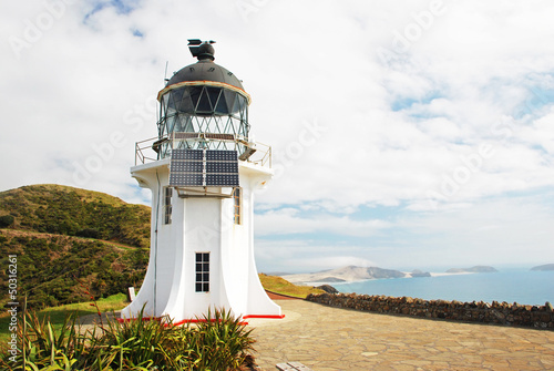Cape Reigna lighthouse, New Zealand