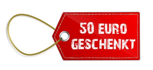 Anhänger 50 Euro geschenkt