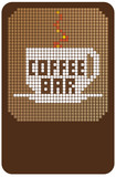coffee bar poster
