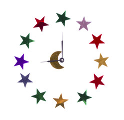 Stars in the form of hours