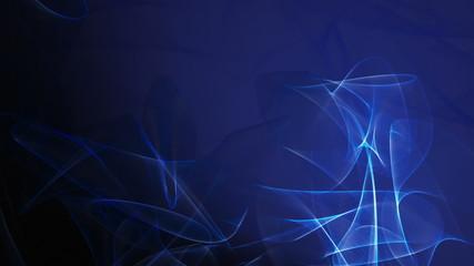 Dark Blue Wave Pattern Background Loop