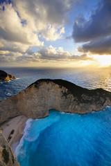 """Sunset in the """" Shipwreek beach"""" (Zakynthos,Greece)"""