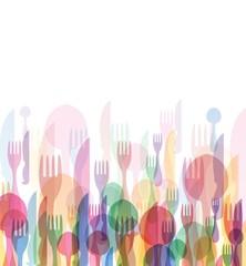 Restaurant menu color
