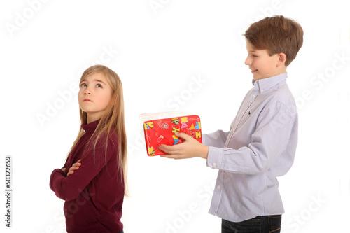 Geschenkverweigerung