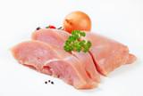 Raw turkey breast