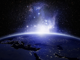 Lights on Earth
