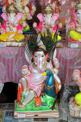 sculpture of Lord ganesha- God of luck