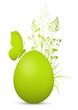 Osterei, Ostern, Ei, Schmetterling, Bio, Bio-Ei, Dekoration, 3D