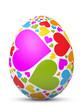 Osterei, Ostern, Ei, Herz, Liebe, verliebt, Frühling, Deko, 3D