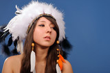 young American Indian girl