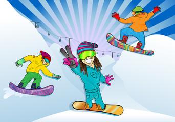 Открытие сноубордического сезона
