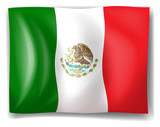 The flag of Mexico