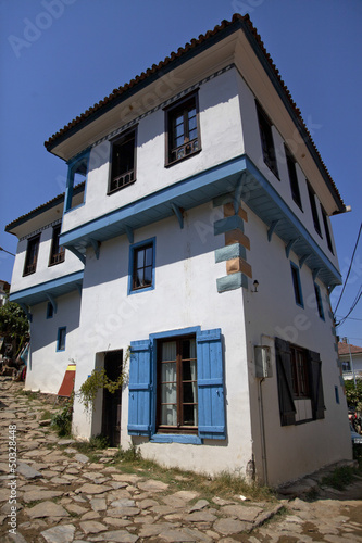 old ottoman house at sirince turkey