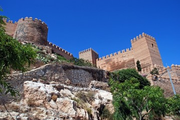 Castle, Almeria, Andalusia, Spain © Arena Photo UK