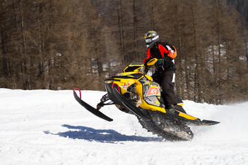 skidoo in action