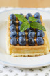Blueberry wafer