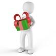 Das Geschenk in Rot-Grün