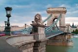 Fototapety Budapest - Chain Bridge
