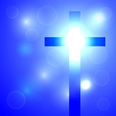 Background with cross