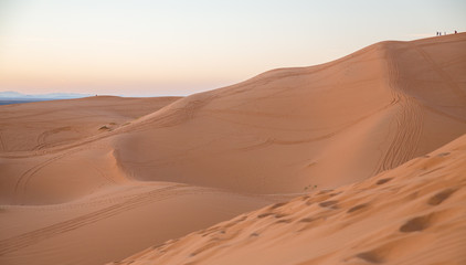 Dune and people
