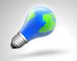 light bulb & globe