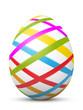 Osterei, Ostern, Ei, Streifen, gestreift, Linien, Deko, Symbol