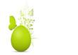 Osterei, Ostern, Ei, Schmetterling, Gras, Elegant, sinnlich, 3D