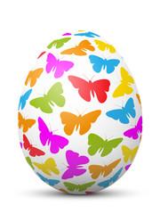 Osterei, Ostern, Ei, Schmetterlinge, Frühling, Erwachen, Symbol
