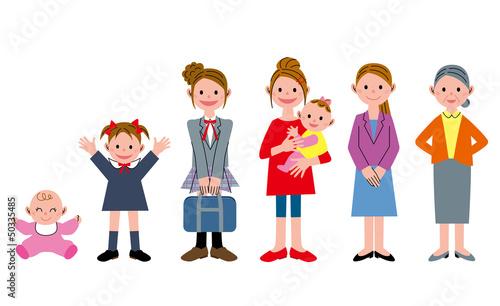 世代 女性