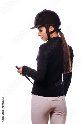 strict jockey with thin switch