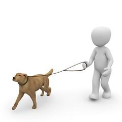 Hund gassi gehen