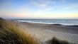 Sunset at Hengistbury Head beach near Bournemouth