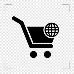 Online cart Icon