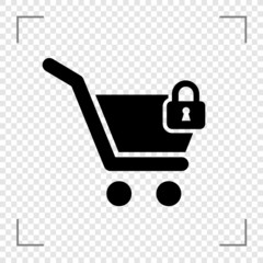 Lock Cart Icon