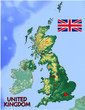 United Kingdom UK Europe national emblem map symbol motto