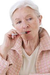 Inhaler la vapeur - Cigarette électronique -
