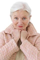 Portrait d'une senior